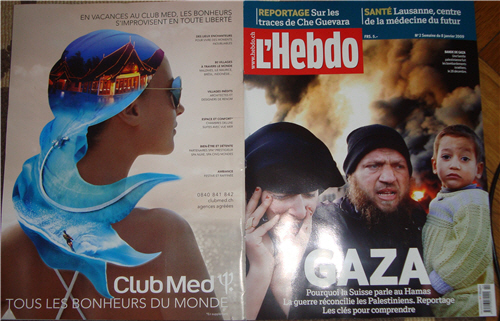 Les joies du Club Med à Gaza? Hebdo du 8 janvier 2009